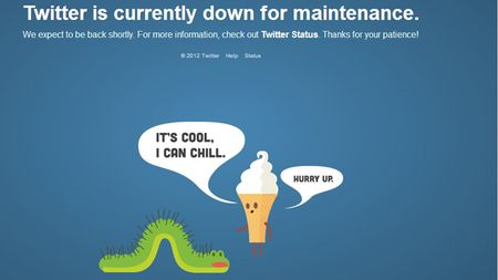 The website for Twitter is down.