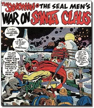 The late great Jack Kirby shows us why he's the King of Christmas