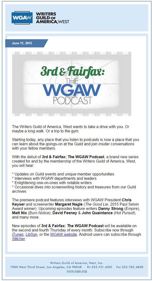 wga podcast screen cap