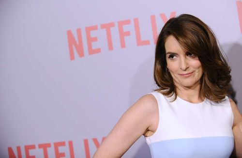 "WEST HOLLYWOOD, CA - JUNE 07:  Actress Tina Fey attends the FYC screening of Netflix's ""Unbreakable Kimmy Schmidt"" at Pacific Design Center on June 7, 2015 in West Hollywood, California.  (Photo by Jason LaVeris/FilmMagic)"