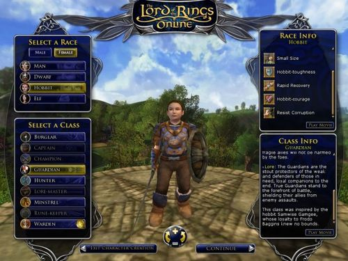 Female-Hobbit-Guardian-from-Lord-of-the-Rings-Online