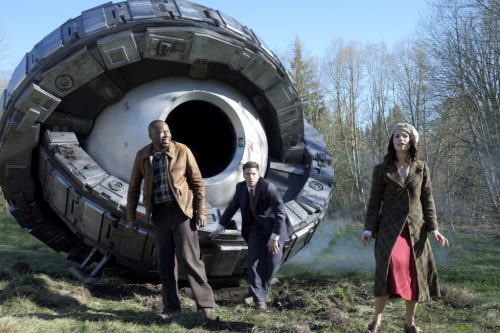 The time travelers of NBC's Timeless arrive in 1937.