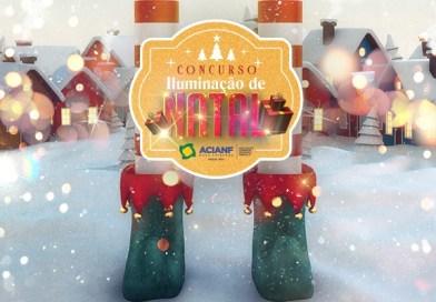 Acianf propõe concurso de iluminação natalina