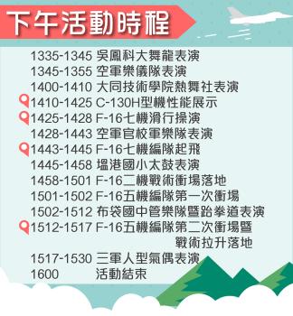 107年國防知性之旅-空軍嘉義基地營區開放活動(活動已結束)