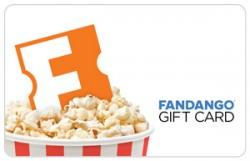 $50 Fandango Popcorn Gift Card