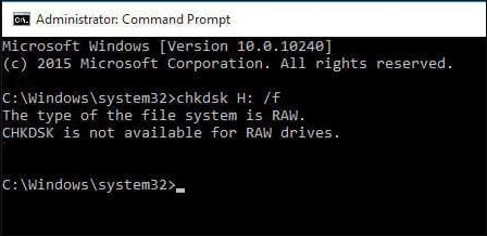 〔修復〕檔案系統類型是RAW。RAW磁碟機無法使用CHKDSK - EaseUS