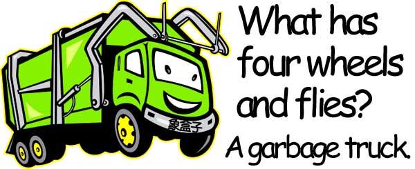 garbage truck 垃圾車
