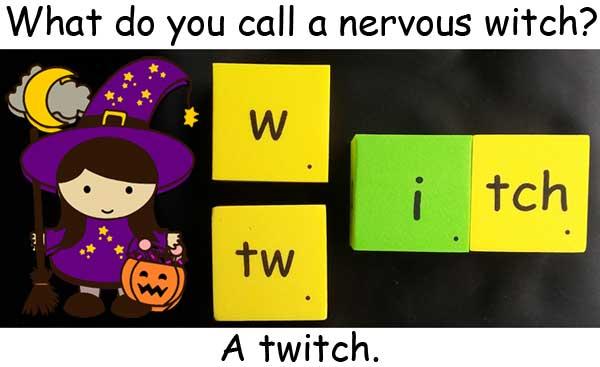 女巫 巫婆 witch twitch 顫動 痙攣 抽搐 Halloween 萬聖節