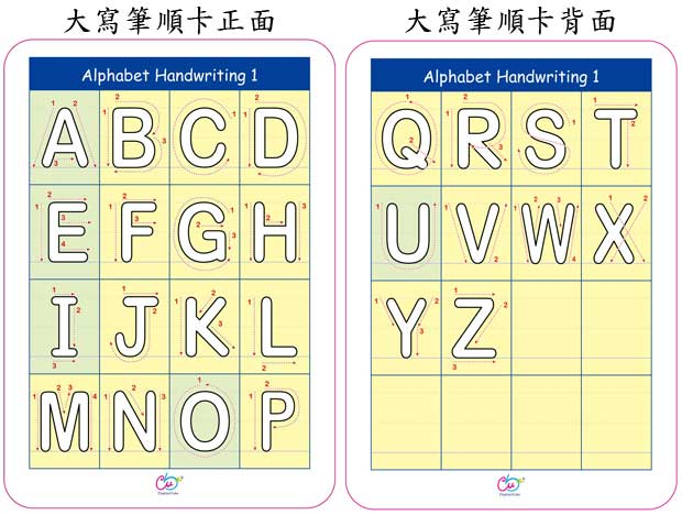 麻辣字母拼讀卡(大卡)|英文字卡|英語閃卡|象盒子®