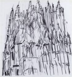 Dennis Creffield- Canterbury Cathedral 1987 Dennis Creffield born 1931 Purchased 1990 http://www.tate.org.uk/art/work/T05749