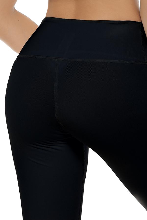 Mesh Legging Black