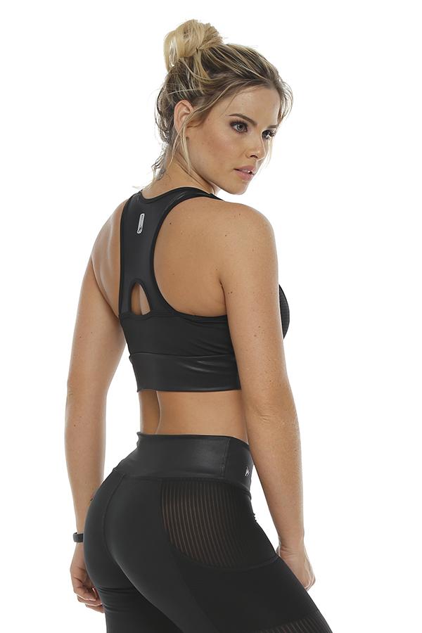 Sport Bra Black Perú