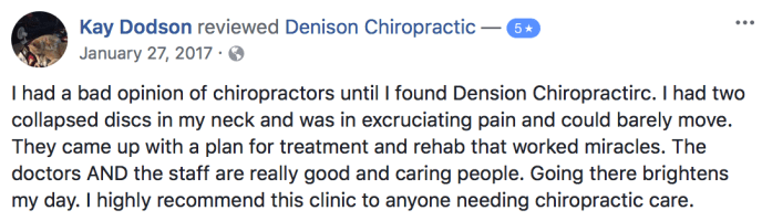 Denison Chiropactic - Sports Athlete - Strength