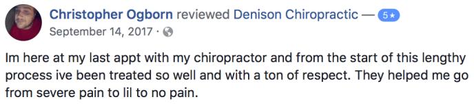 Chiropractor Near Me Denison Chiropractic