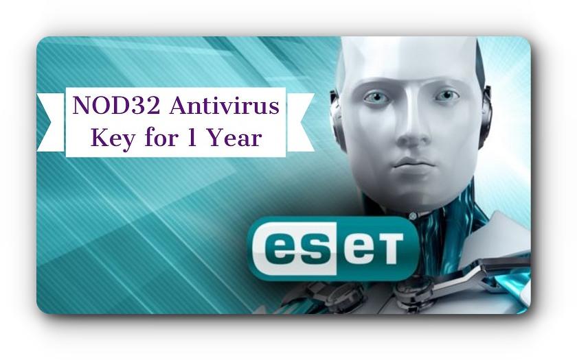 eset nod32 antivirus username and password 2018