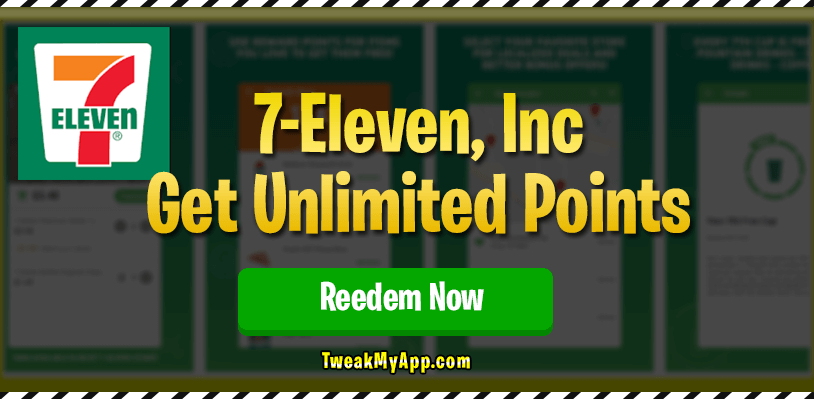 7-Eleven Points Hack