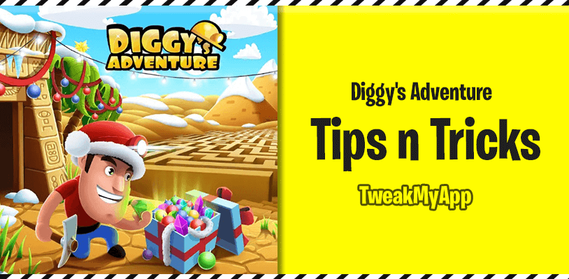 diggy's adventure tips and tricks