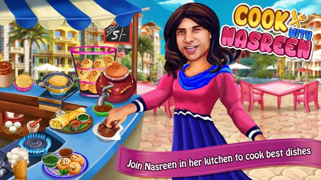 Cooking with Nasreen poster