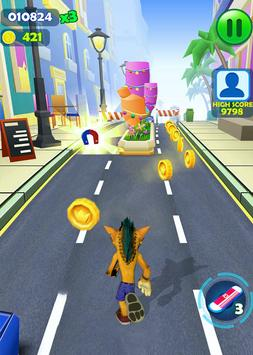 Crash Subway Adventure Runner screenshot 1