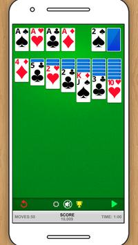 SOLITAIRE CLASSIC CARD GAME poster