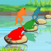 Jumping Frogs Race icon