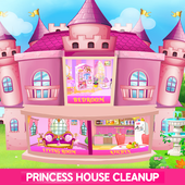 Princess House Cleanup For Girls icon