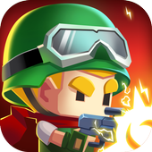 Zombie War : games for defense zombie in a shelter icon
