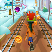 Crash Subway Adventure Runner icon