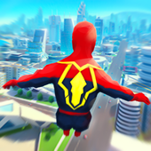 Super Heroes Fly: Sky Dance - Running Game icon