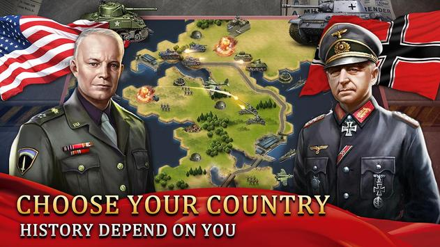 World War 2: WW2 Grand Strategy Games Simulator screenshot 1