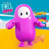 Knockout Fall Guys Royale 3D: Human Knock Over icon