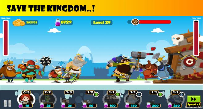 Battle of Kings  – Tower Defense Strategy Game screenshot 1