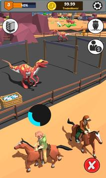 Idle Jurassic Zoo: Dino Park Tycoon Inc poster