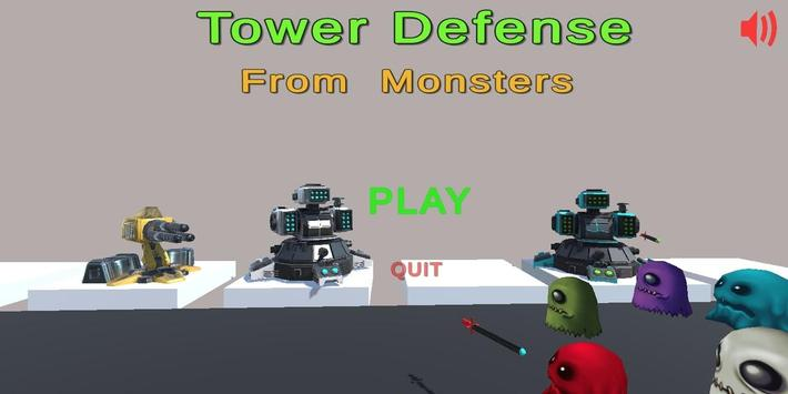 Tower Defense: From Monsters Game! screenshot 1