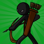 Stickman war icon