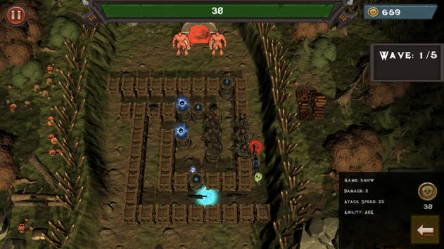 Strategy Defense: Tower Defense 3D Game poster