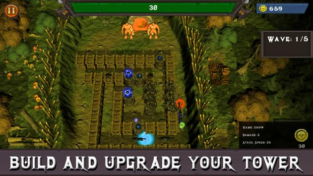 Fantasy Defense: Legion Tower Defense Offline 3D screenshot 1
