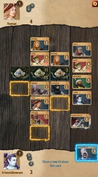 Crimson Company - the duelling card game poster