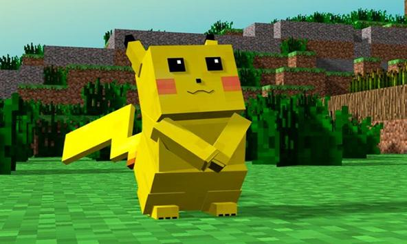 Mod Pikachu & Eevee - Pixelmon for Minecraft PE screenshot 1