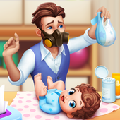 Baby Manor: Baby Raising Simulation & Home Design icon