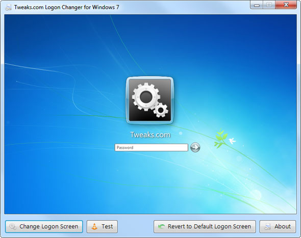 Logon Changer for Windows 7