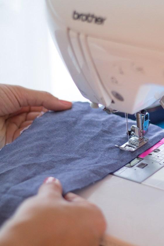 Nahtzugabe einzeichnen Anleitung - Tweed & Greet