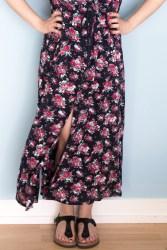 Reeta floral Maxidress - Schnittmuster Named - Tweed & Greet