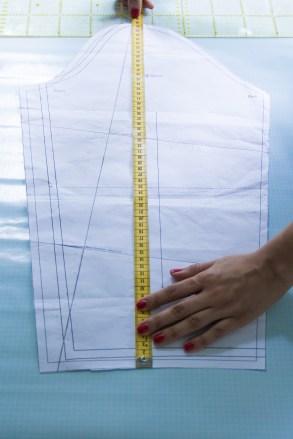 Ärmellänge am Schnittmuster kontrollieren - Tweed & Greet