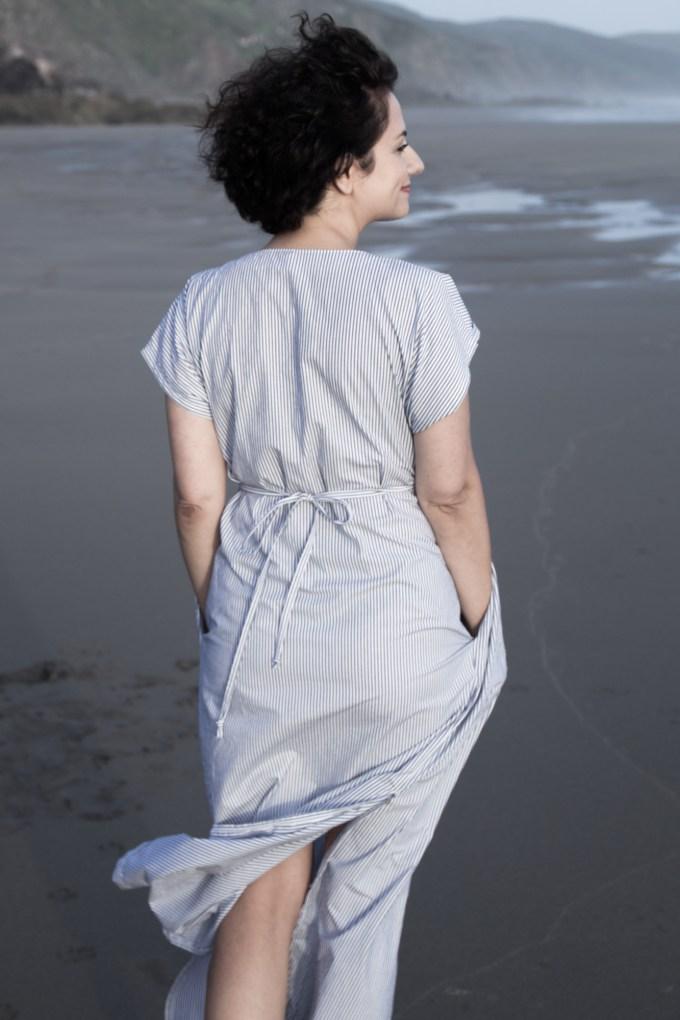 Charlie Kaftan by Closet Case Patterns - Tweed & Greet