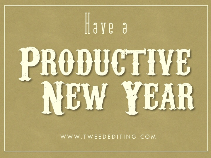 Have a Productive New Year