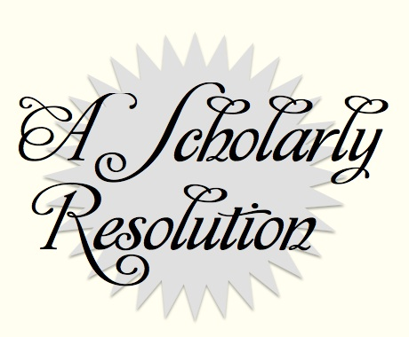 Scholarly Resolution