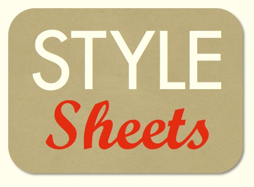 Style Sheets for Academic Editing