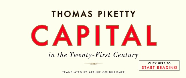 Thomas Piketty, Harvard University Press