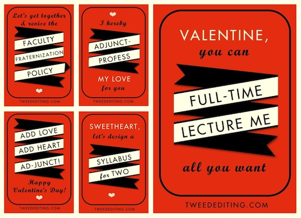 More Tweed Academic Valentines 2015